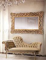 Зеркало в деревянной раме №13