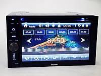 2din Магнитола Pioneer TS-6220 GPS+DVD+USB+SD+Bluetooth+TV