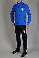 Спортивный костюм Puma Italia голубой, черный мужской