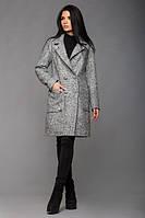 Женское светло-серое  пальто Будапешт  Leo Pride 42-48 размеры