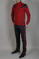 Мужской спортивный костюм Nike бордовый