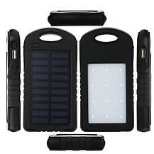 Портативное зарядное устройство Solar Charger Power Bank 10000 mAh, фото 2