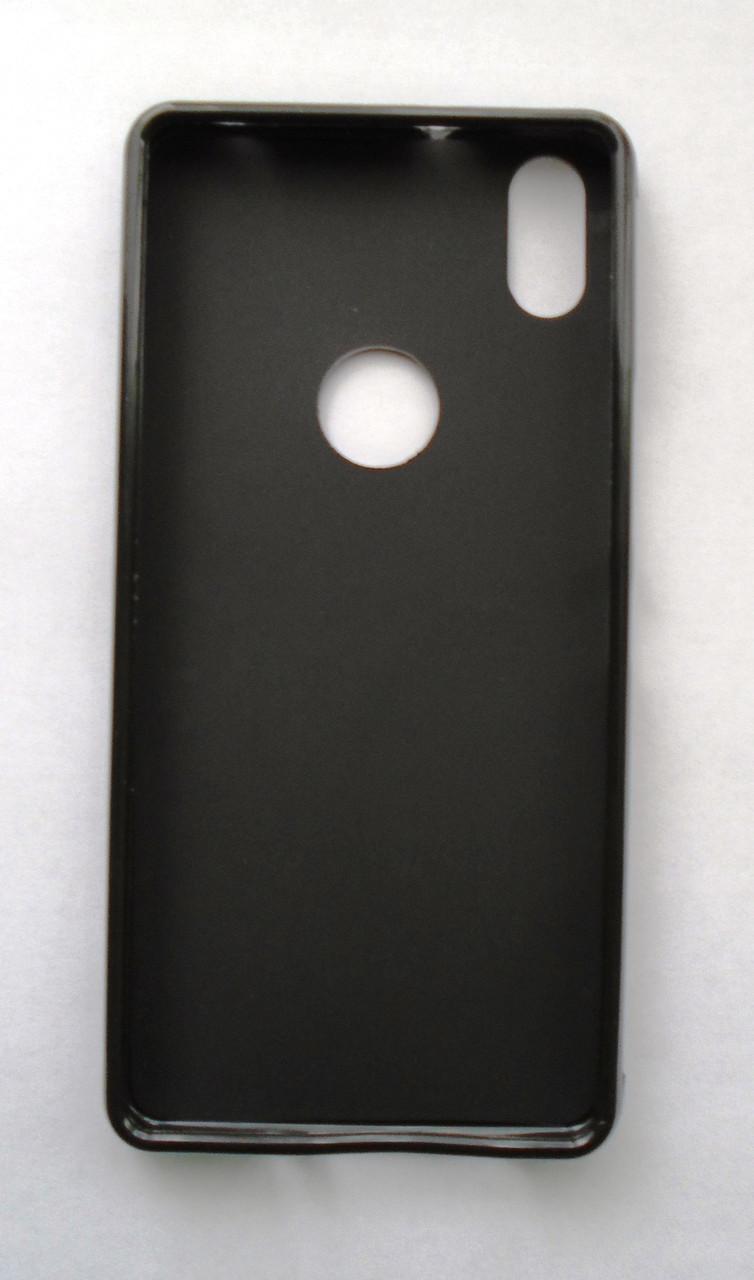 Чехол бампер силиконовый BQ Aquaris X5 plus черный