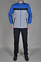 Мужской спортивный костюм MXC Синий, серый