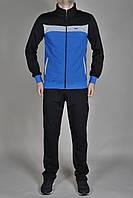 Мужской спортивный костюм MXC Черный, синий