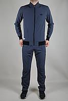 Мужской спортивный костюм Adidas летний темно-серый