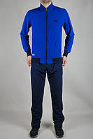 Мужской спортивный костюм Adidas летний синий