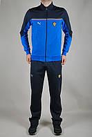 Мужской спортивный костюм Puma Ferrari Голубой