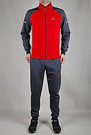 Мужской спортивный костюм Nike Темно-серый, красный
