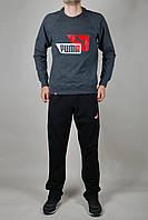 Спортивный костюм мужской Puma Серо чёрный
