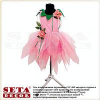 Детское платье Цветок Роза карнавальное