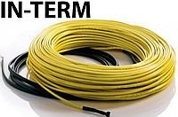 Нагревательный кабель In-Term (Чехия) 32 м. Теплый электрический пол