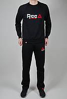 Спортивный костюм мужской Reebok Чёрный, фото 1