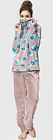 Пижама женская теплая зимняя плюшевая Key LHS 054 B6