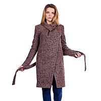 Красивое пальто женское демисезонное в 2х цветах Е-17