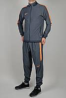 Летний спортивный костюм мужской Nike Серый