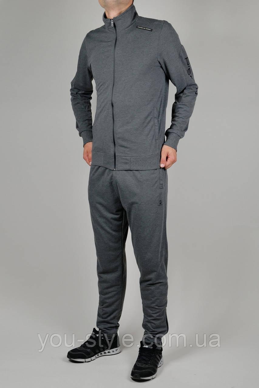 Мужской спортивный костюм Adidas Porsche Design Тёмно-серый - Интернет  магазин