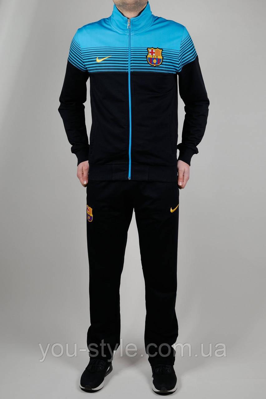30f671e7 Спортивный костюм мужской Nike FCB Чёрный - Интернет магазин