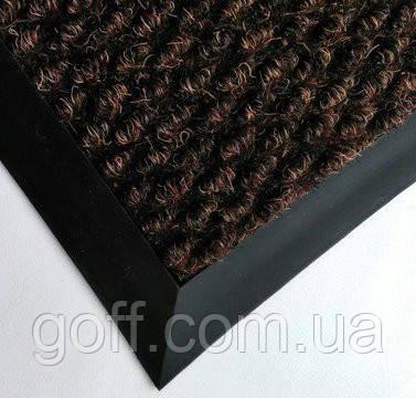"""Грязезащитный  ковер """"Хьюстон"""" 40х60 см - серый, коричневый, черный"""