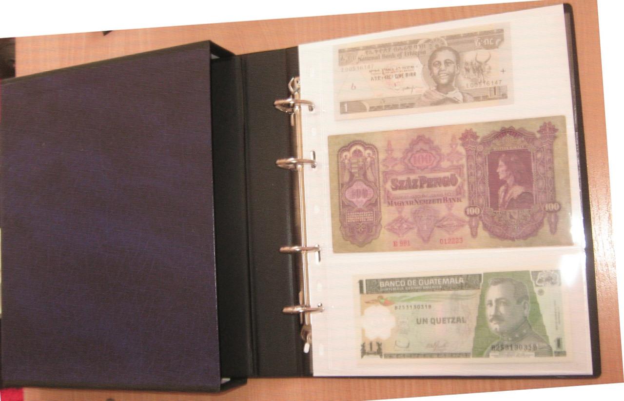 Альбом коллекционер для банкнот 500 000 рублей 1995