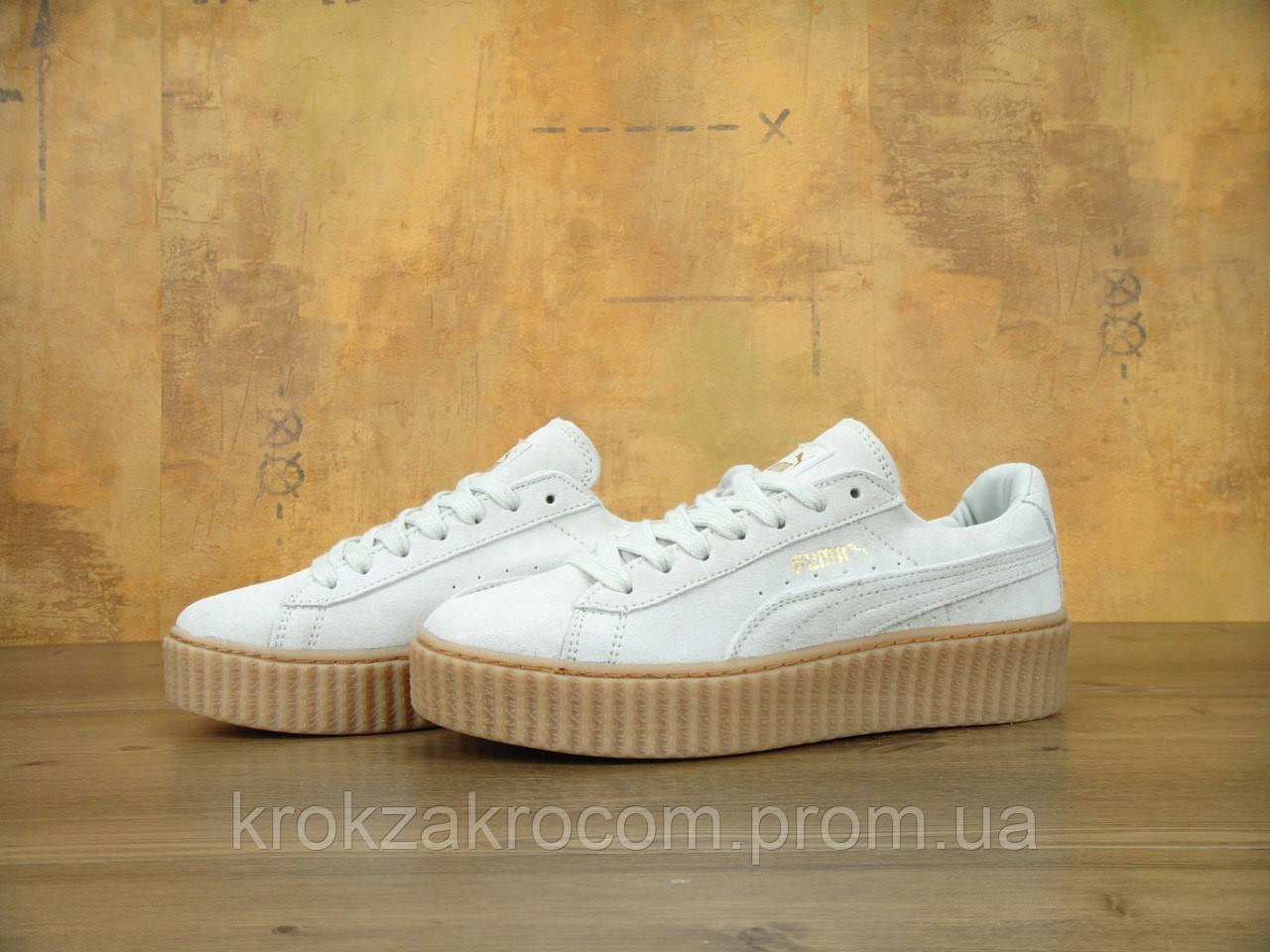 low priced 5a12f 5b38f Кроссовки Puma Creepers by Rihanna replica AAA