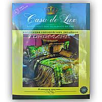 """Двуспальный комплект постельного белья """"Casa de Lux 100% хлопок"""" - Леопард - 180*220 - Украина"""