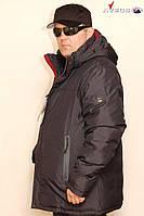 Куртка мужская Avecs AV7342694B баталы Dark blue Авекс Размеры 62
