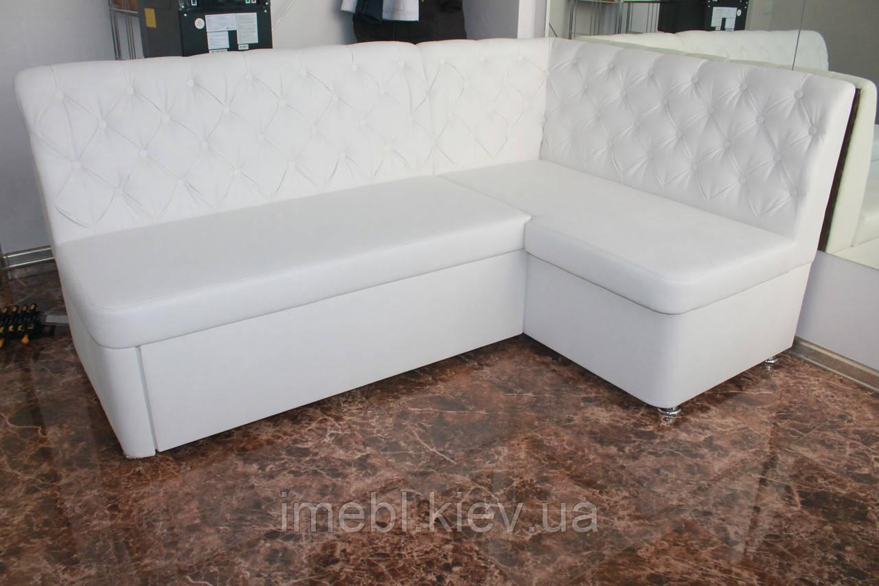 Кухонний куточок зі спальним місцем і ящиком (Білий)