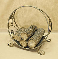 Дровница кованая. Подставка для дров 3 малая, фото 1