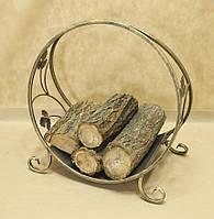 Дровница кованая. Подставка для дров 3 малая