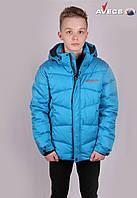 Куртка мужская Avecs WHS 7342513 Бирюзовый Авекс Размеры 46 48 50 54