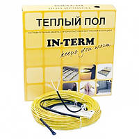 Нагревательный кабель IN-TERM (Чехия) 32м. 640Вт