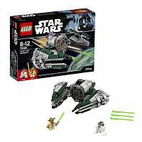 Lego Star Wars лего Звёздный истребитель Йоды 75168