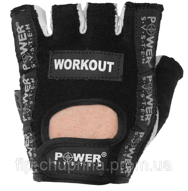 Перчатки для фитнеса POWER SYSTEM WORKOUT PS-2200