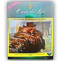 """Двуспальный комплект постельного белья """"Casa de Lux 100% хлопок"""" - Тигровый мир - 180*220 - Украина"""