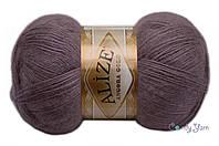 Alize Angora Gold, темно-лиловый №312