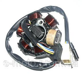 Генератор (статор) Honda Dio-50 (5 проводов) AF-18,27,28