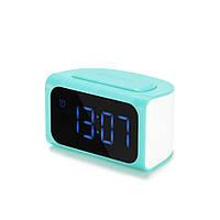 Часы настольные Remax ZMart Alarm Clock RMC-05 USB (Yellow), фото 1