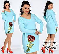 Платье, 427 ОКА батал, фото 1