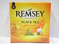Чай черный REMSEY klasyczna 75 пакетиков
