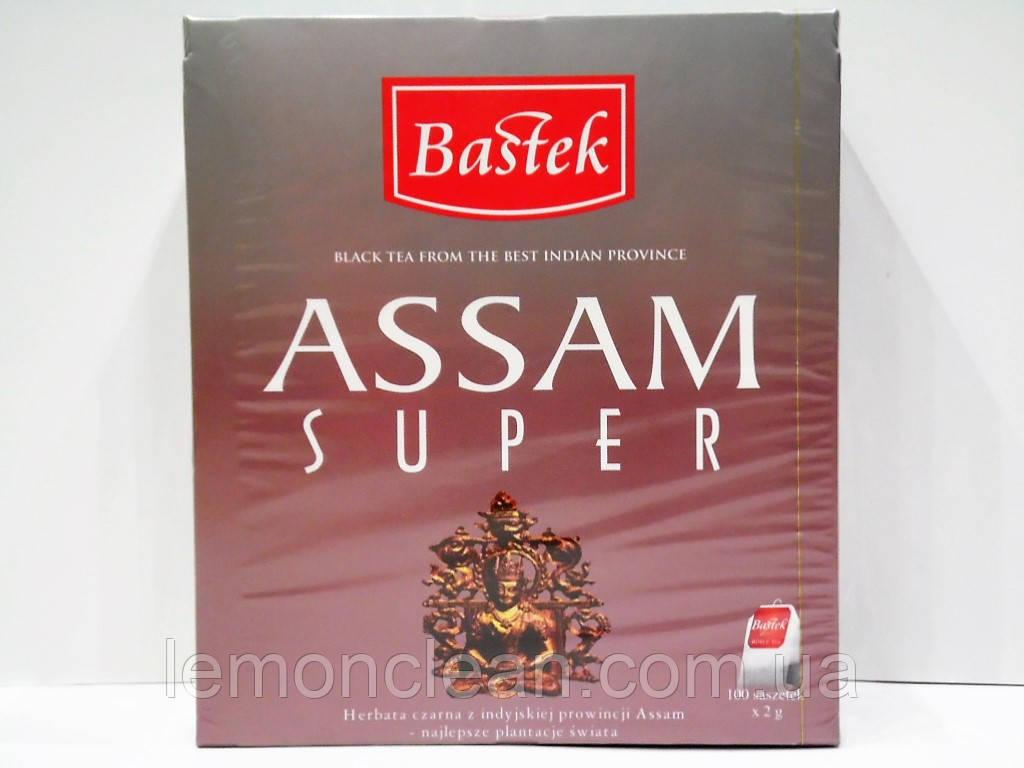Чай Bastek Assam super 100 пакетиков