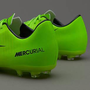 443f2c13 Детские Бутсы Nike Mercurial Vapor XI FG 831945-303 (Оригинал), фото 2