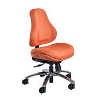 Кресло обивка оранжевая в точку MEALUX Y-128 OR