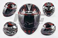 "Шлем-интеграл ""HJC"" (mod:X1) (size:L, черно-красный)"