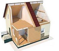 Этапы строительства дома из сип панелей по канадской технологии
