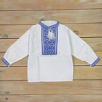 Детская рубашка  для мальчика гучная вышивка, фото 1