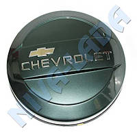 Чехол запасного колеса ПЛАСТИК Chevrolet (колпак, бокс) Сочи (серо-зеленый)