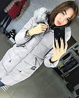 Стильная женская куртка с мехом