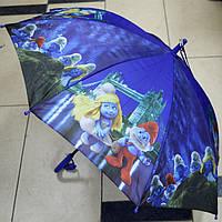 Зонт трость для мальчика Мультики