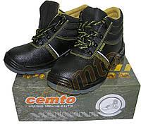 Ботинки рабочие cemto с металлическим носком на ПУП, черевики робочі з металевим, фото 1